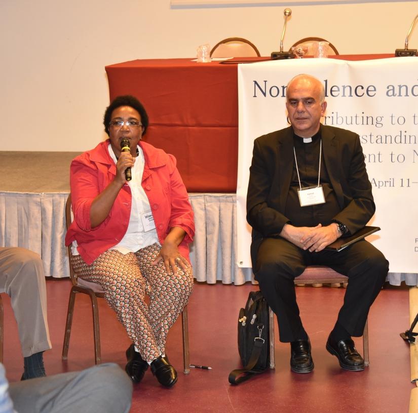 Terry Rynne, Wamuyu Wachira, Jamal Daibes
