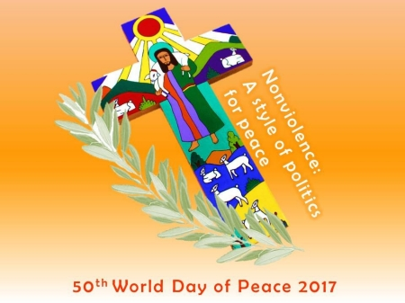 "World Day of Peace message 2017 calls for lives of ""active nonviolence"""