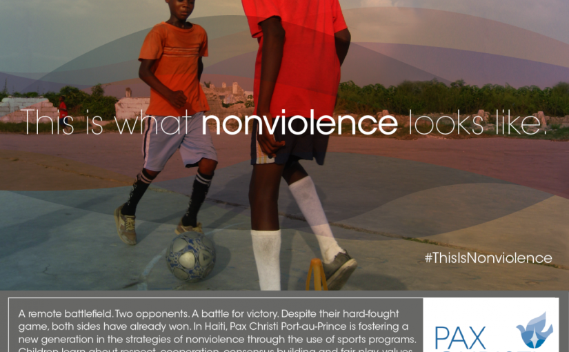 Join the #ThisIsNonviolence campaign