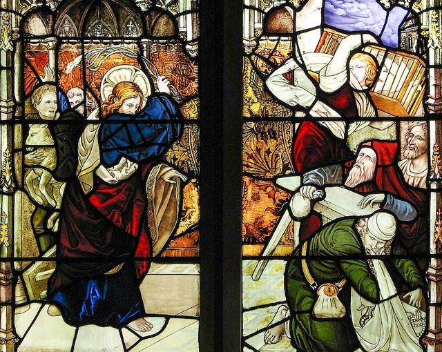 The nonviolent resistance of Jesus/La résistance nonviolente deJésus